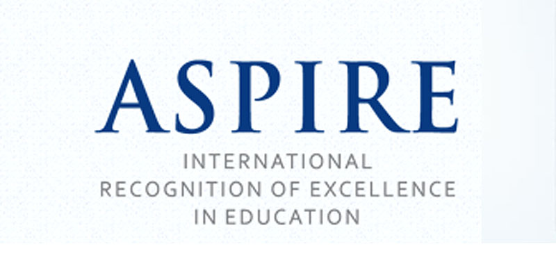 ASPIRE award recognises excellence in Faculty Development