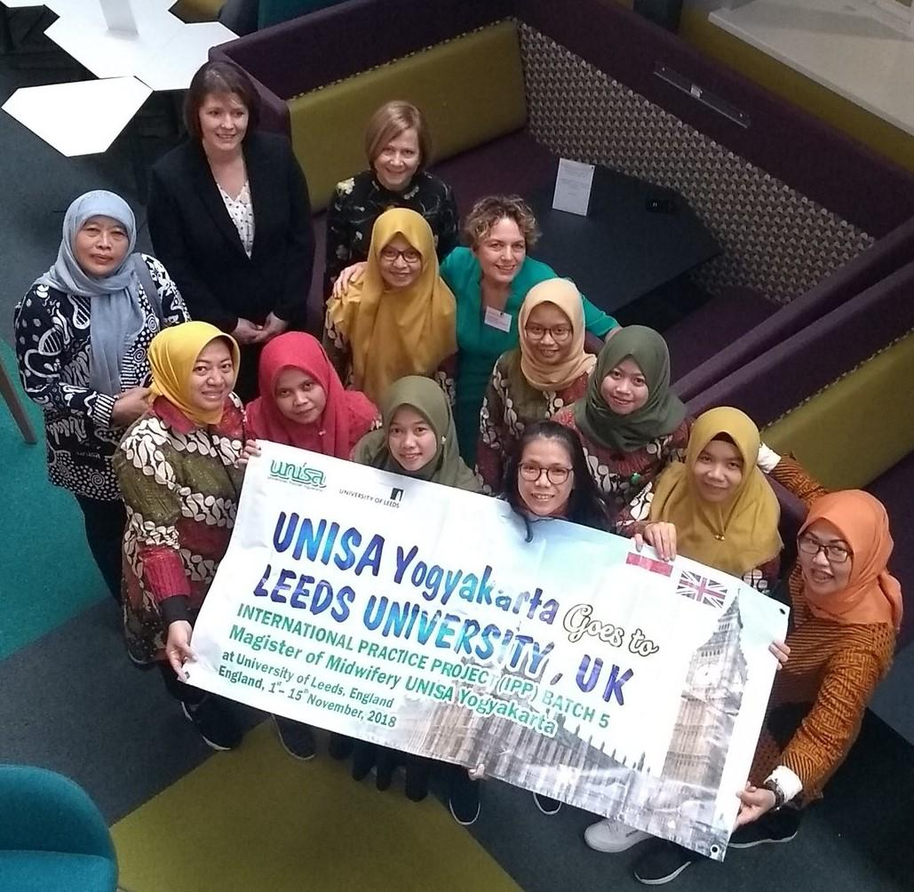 Indonesian Midwifery student visit