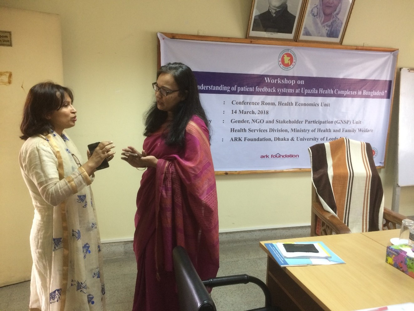RESPOND research project - Dr Rumana Huque - Dr Ayesha Afroz