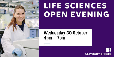 university of leeds open evening, 30th october 2019