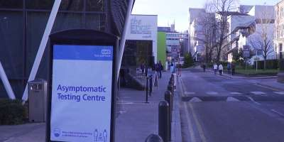 Asymptomatic testing centre leeds university