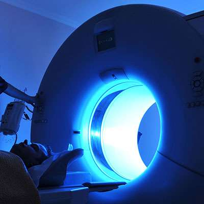 MRI scanner imaging